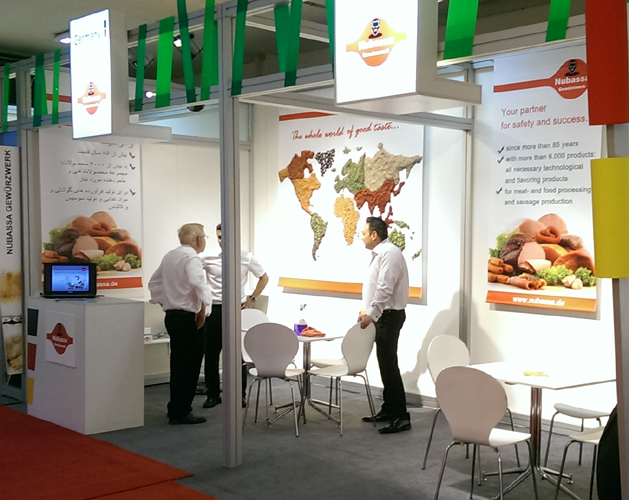 Messestand Iran Food  Hospitality 2016